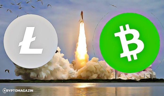 Litecoin láme jednu rezistenci za druhou – Bcash předvedl ukázkový comeback