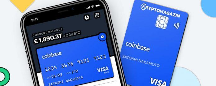 Zákazníci Coinbase mají důvod k radosti – Společnost spouští novou debetní kartu