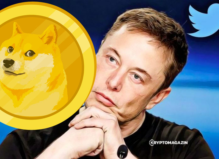 Elon Musk si přidal na Twitter, že je bývalý CEO Dogecoinu