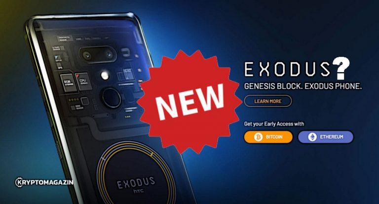 Druhá generace HTC blockchain smartphonu Exodus přijde už tento rok!