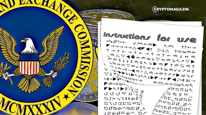 SEC se pustil do práce – Konečně vydal návod, jak rozlišovat kryptoměny