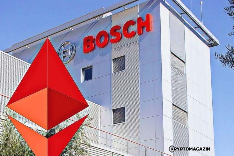 Bosch a Ethereum – Technologický gigant testuje prototypy na ETH blockchainu