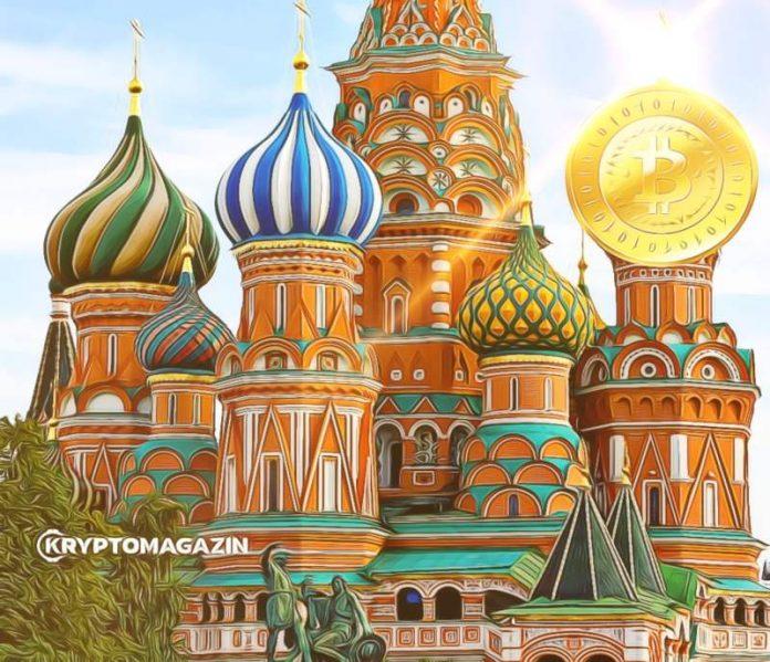 Rusko, kryptoměny