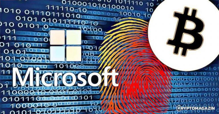[MOON] Microsoft vytvoří nový autentifikační systém – použije k tomu Bitcoin blockchain!