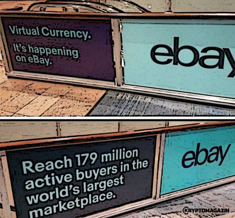 Bude eBay přijímat kryptoměny, nebo jde o chytrý PR tah?