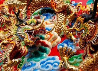 Čína, drak, čínský,
