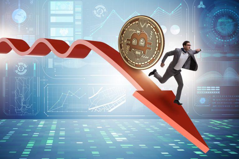 Proč Bitcoin spadl pod 10 000 USD?