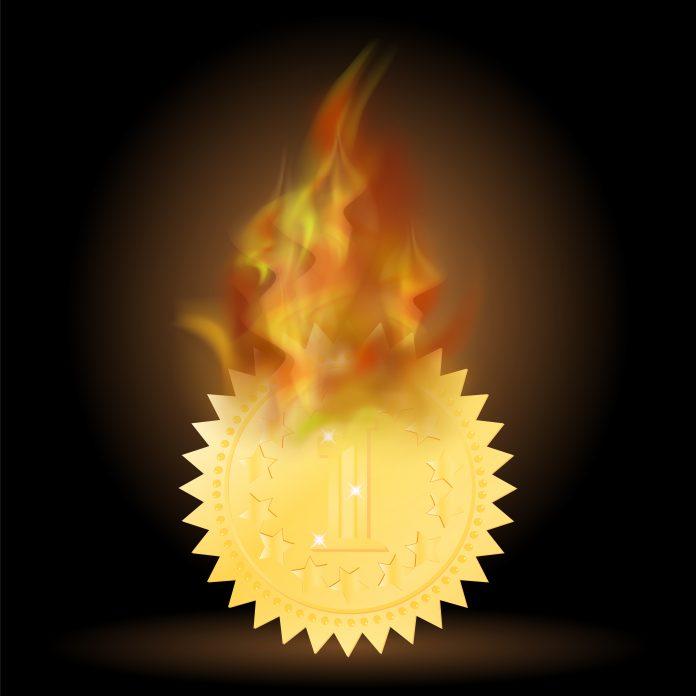 Burning BNB Binance