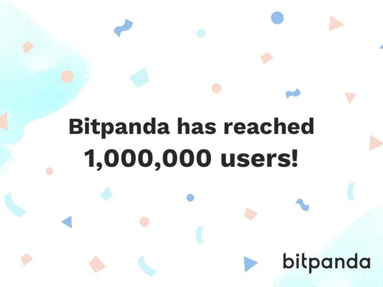 Bitpanda překonala milník 1 milion uživatelů