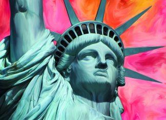 socha svobody, new york