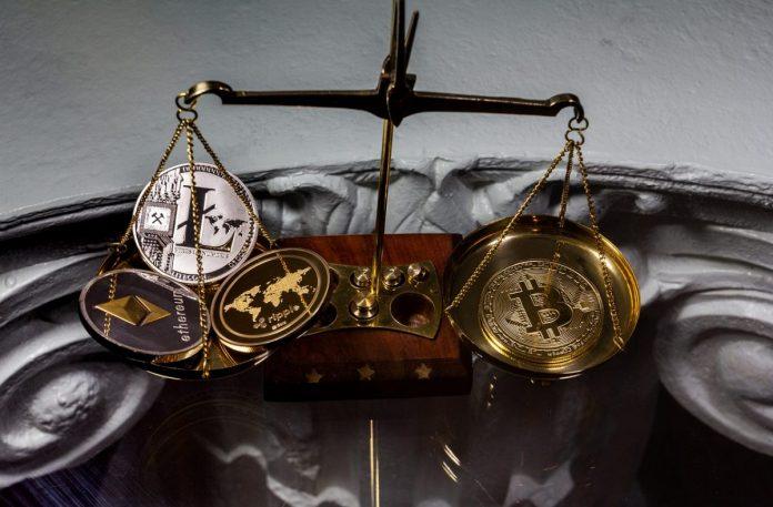 analytik, altcoiny, rostou, váha, dominance, bitcoin