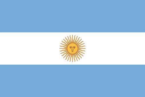 vlajka, Argentina