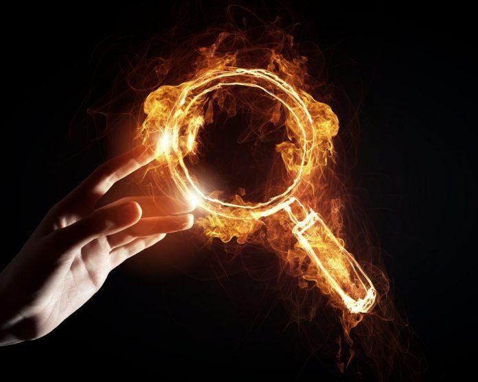 vyhledávání, lupa, bitcoin, trends, google, vyhledávač, hledat