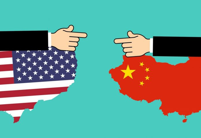 usa china čína
