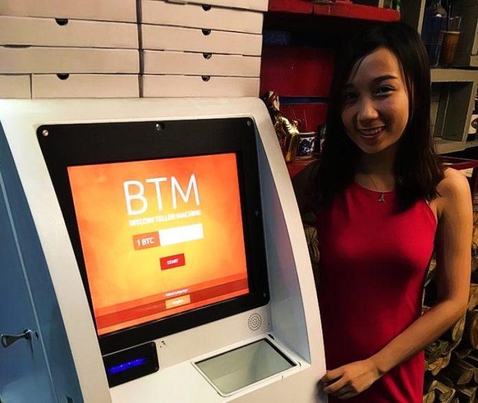 Bitcoin ATM automaty