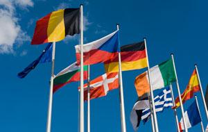 vlajky, eu