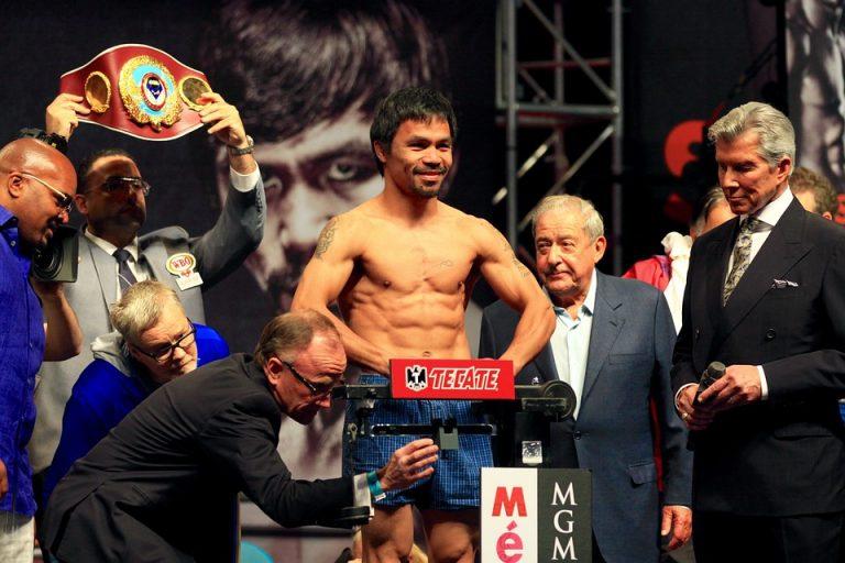 Filipínský boxerský šampion Manny Pacquiao vydává vlastní token
