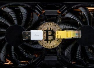 Bitcoin, mince, grafická karta
