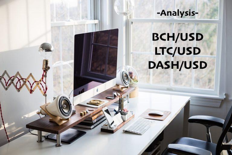 15.09.19 Technická analýza BCH, LTC, DASH Jsou altcoiny na dně? Kdy se konečně odrazí nahoru?