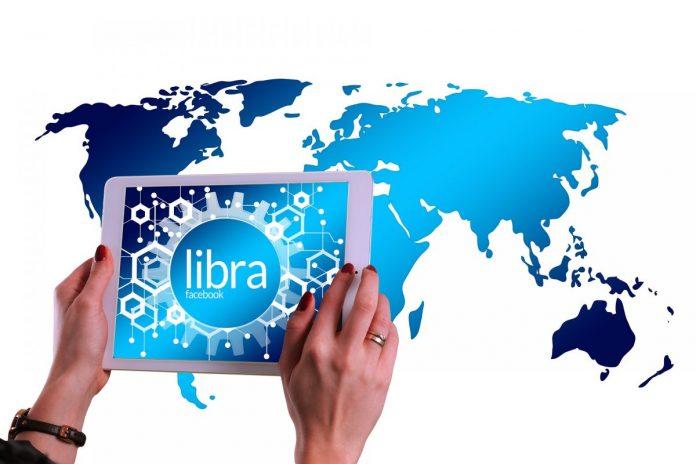 tablet, Libra, mapa