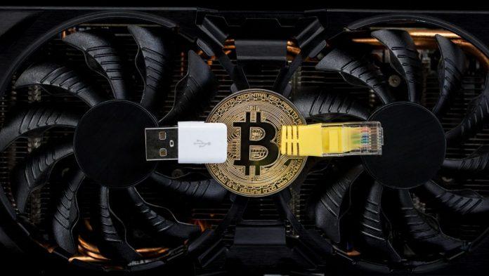 Bitcoin, graf. karta