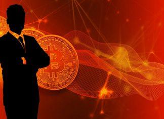 bitcoin, cena, analytik
