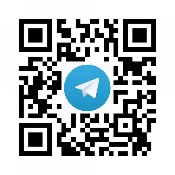 Telegram, QR kód
