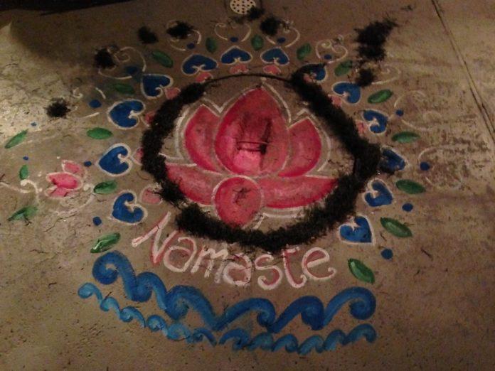 Namaste, ego, egem, klid, harmonie