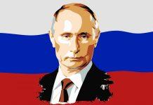 vlajka, Rusko, Putin