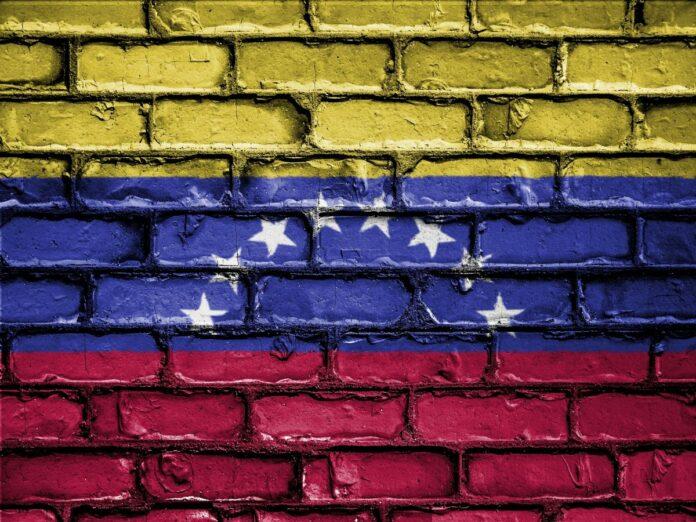 zeď, vlajka, Venezuela