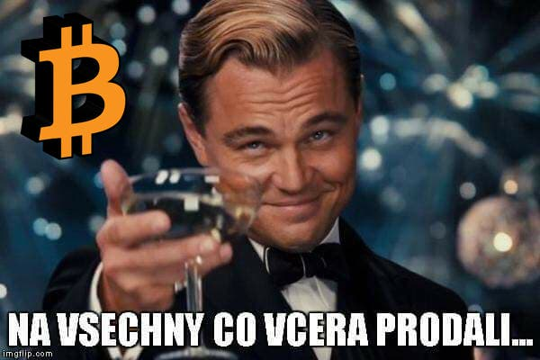 [Přehled trhu] 21.02. [BTC] -6,38% Bears to přes noc shodili o 900 USD na Bitcoinu