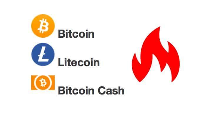 [Přehled trhu] 18.02. [BTC] -1,3%[LTC] -0,13%[BCH] -0,23% Bitcoin už v pásmu podpory. Ztratili jsme ale 1 000 USD od high!