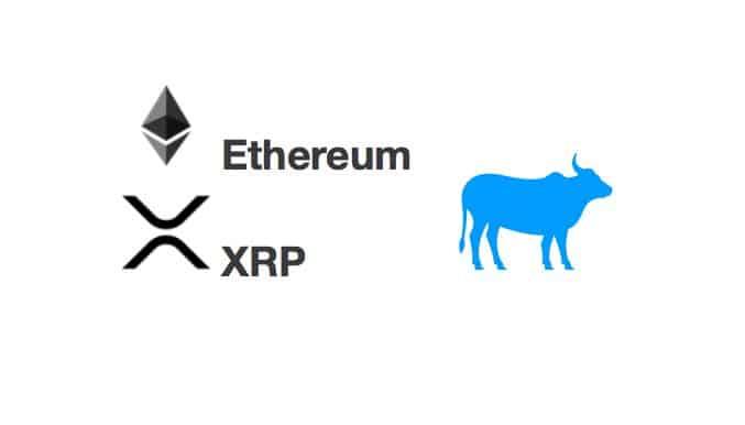 Technická analýza 04.03.20 [ETH a XRP] Altcoiny se pohnuly, nač čeká Ethereum a Ripple?