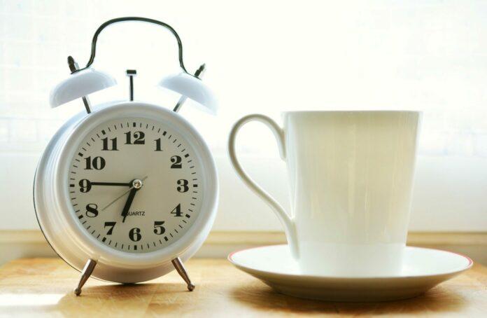 vstávání, ráno