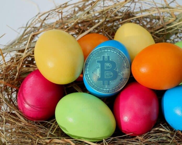 bitcoin velikonoce