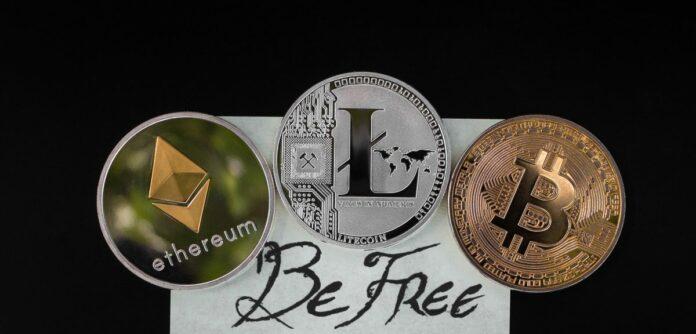 mince, kryptoměny
