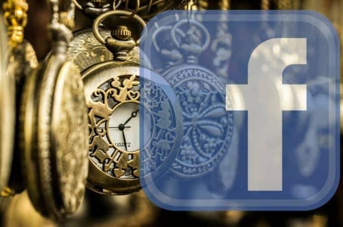 facebook time time line clock