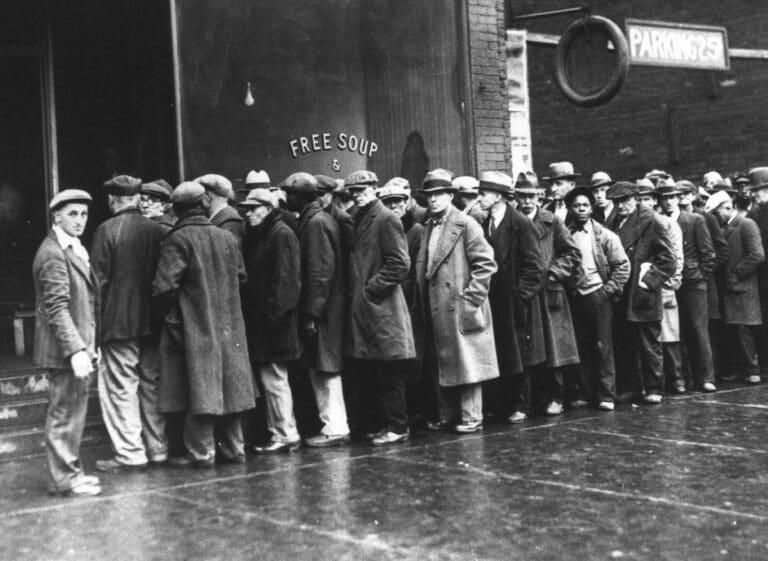 Historické krize 3: Velká deprese (30. léta 20. století)