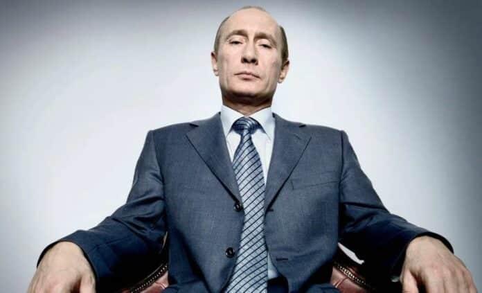 Vladimir Putin Rusko