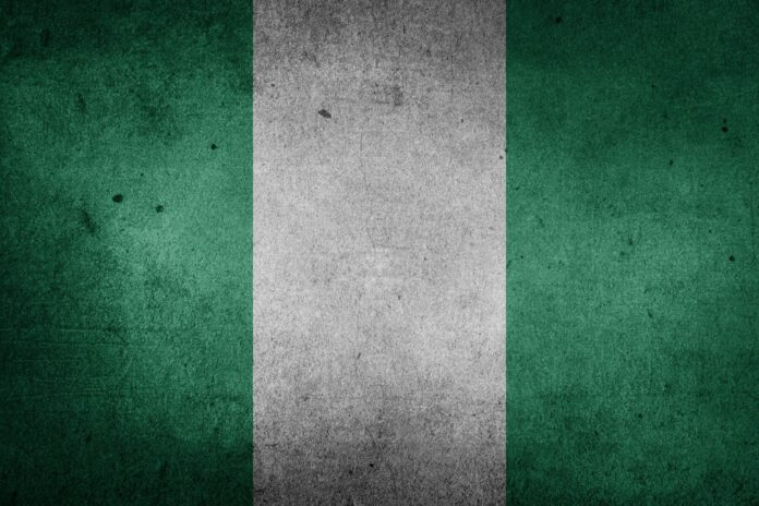 nigérie, afrika, stát, vlajka