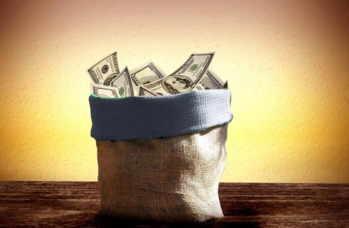 dolar penize money finance