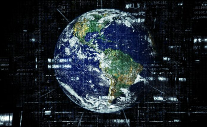 global, země