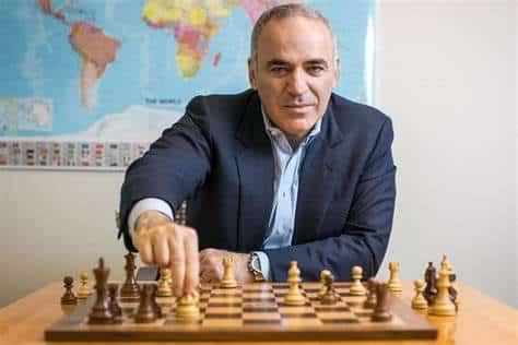šachy, kasparov