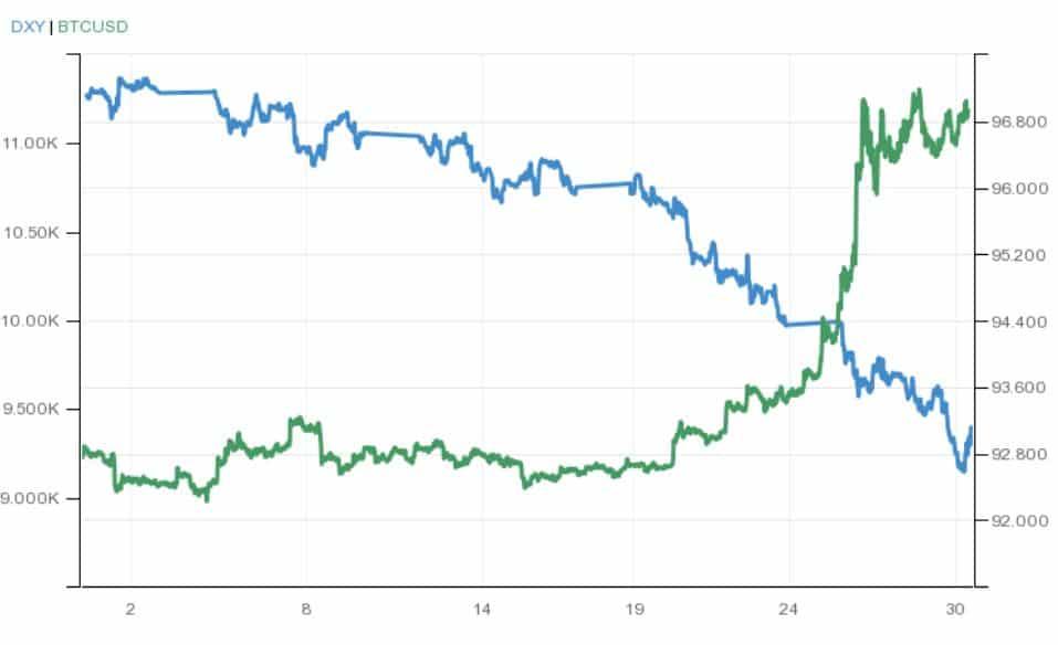 dolar graf