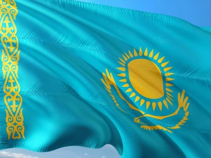 vlajka, Kazachstán