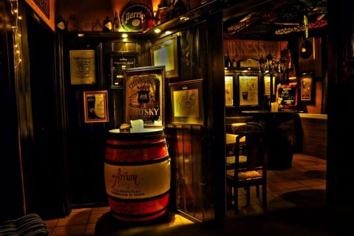 whisky, whiskey, bar