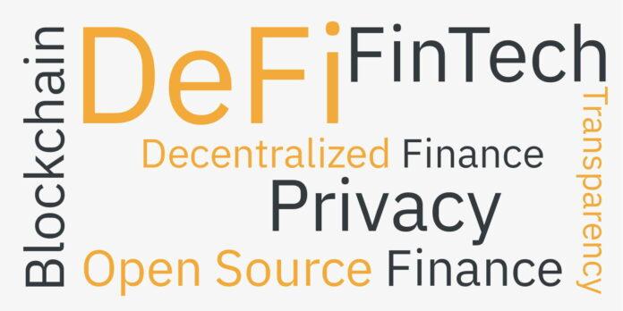 DeFi, decentralizace, finance