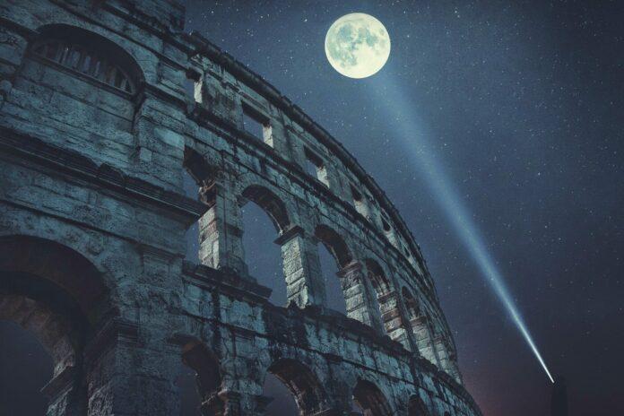 večer, souhrn, zprávy, koloseum, itálie