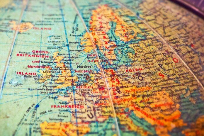 globus, mapa, globalni