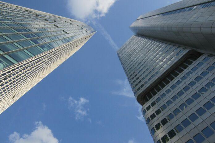 cbdc, banky, centrální, mrakodrap